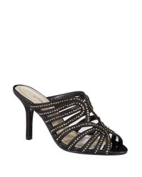 Caparros | Black Rosemary Gemstone Sandals | Lyst
