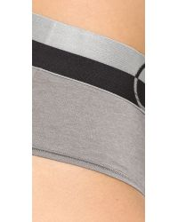Calvin Klein - Gray Magnetic Force Hipster Panties - Lyst
