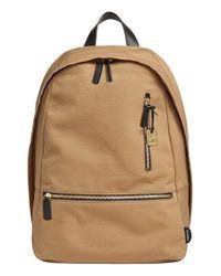 Skagen - Natural 'kroyer 2.0' Coated Canvas Backpack for Men - Lyst