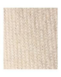 By Malene Birger Natural Bellisa Mohair And Wool-blend Cardigan