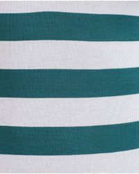 Zara | Green Striped Polo Shirt for Men | Lyst
