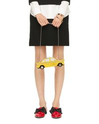 Kate Spade | Yellow Taxi Clutch | Lyst