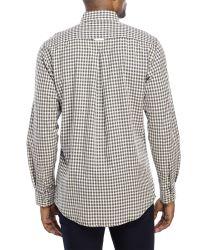 Mine - Blue Plaid Button-Down Shirt for Men - Lyst