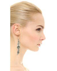 Pascale Monvoisin - Metallic Destiny Earrings - Silver - Lyst