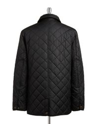 Hart Schaffner Marx | Black Quilted Jacket for Men | Lyst