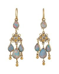 Judy Geib | Blue Chandelier Earrings | Lyst