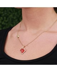 Katherine Jetter | Yellow Fire Opal Petal Pendant Necklace | Lyst