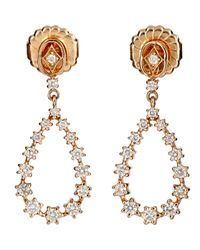 Sara Weinstock - Pink Women's Petite Pear-shaped Drop Earrings - Lyst