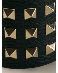 Valentino - Black Rockstud Cuff - Lyst