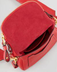 Tom Ford Red Jennifer Mini Crossbody Bag