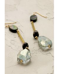 Anthropologie | Gray Paloma Earrings | Lyst