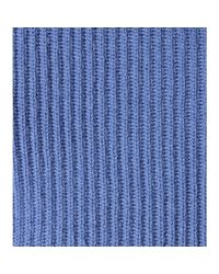 Valentino - Blue Cashmere Sweater - Lyst