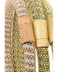 Carolina Bucci | Metallic Twister Set Of Three Gold-Plated Bracelets | Lyst
