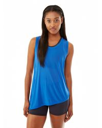 Alternative Apparel | Blue Balance Micro Mesh Tank Top | Lyst
