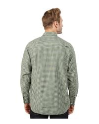 Mountain Khakis Gray Spalding Gingham Shirt for men