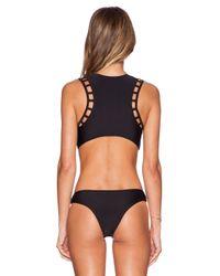 RVCA - Black Eternal Sunrise One-Piece Swimsuit - Lyst