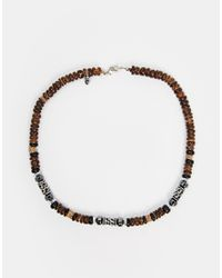 Classics 77 - Brown Falls Necklace for Men - Lyst