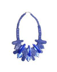 EK Thongprasert | Techophilaea Blue Necklace | Lyst