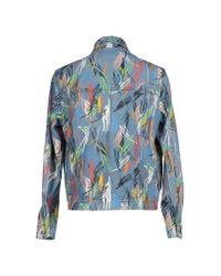 Dior Homme - Blue Denim Outerwear for Men - Lyst
