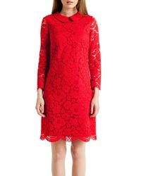 Ted Baker | Red Short Dress | Lyst