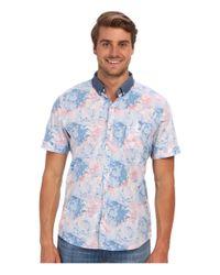 7 Diamonds - Blue July Morning S/s Shirt for Men - Lyst