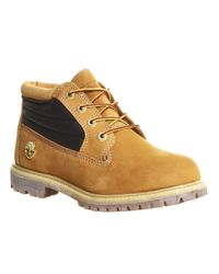 Timberland Brown Nellie Padded Collar Boots