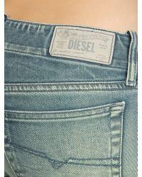 DIESEL   Blue Denim Pants   Lyst