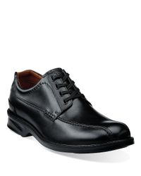 Clarks | Black Colson Leather Oxfords for Men | Lyst