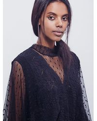 Free People - Black Womens Hard Candy Tee - Lyst