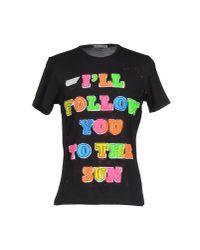 Simeon Farrar | Black T-shirt for Men | Lyst