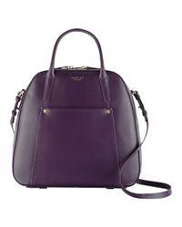 Radley Purple Highbury Barn Leather Multiway Bag
