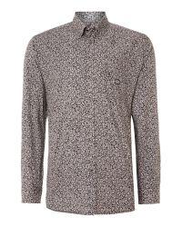 DIESEL - Black Shirt S-ozzy Slim Fit Denim Collar for Men - Lyst
