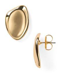 Robert Lee Morris Metallic Stud Earrings