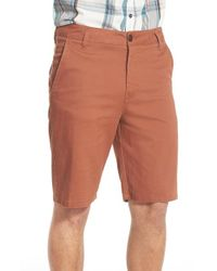 Rip Curl - Brown 'epic Stretch' Chino Shorts for Men - Lyst