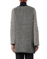 Goat - Black Victoria Wool Knit Cardigan - Lyst