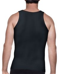Spanx | Black Targeted Core Tank for Men | Lyst