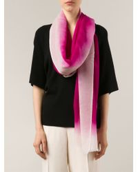 Denis Colomb - Pink 'mustang' Scarf - Lyst