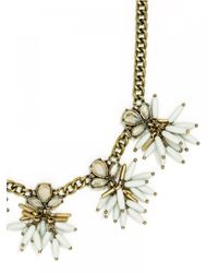 BaubleBar | Metallic Freesia Collar | Lyst
