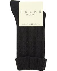 Falke | Blue Cotton-blend Socks | Lyst