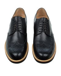 Tod's Black Benson Lite Derby Shoe for men