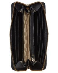 kate spade new york - Black Cedar Street Racing Stripe Lacey Continental Wallet - Lyst