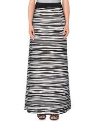Le Complici - Black Long Skirt - Lyst