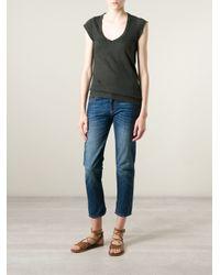 Étoile Isabel Marant - Gray 'Kenton' T-Shirt - Lyst