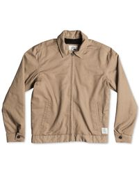 Quiksilver | Brown Billy Jacket for Men | Lyst