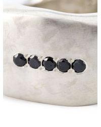 Rosa Maria - Metallic Chunky Diamond Ring - Lyst