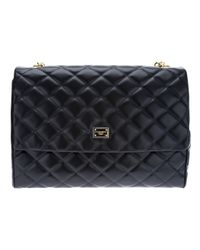 Dolce & Gabbana Black Quilted Bag