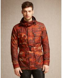 Belstaff Red Roadmaster Jacket for men
