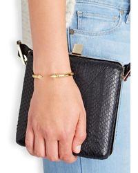 Vita Fede | Metallic Mini Titan Thea Gold-plated Bracelet | Lyst