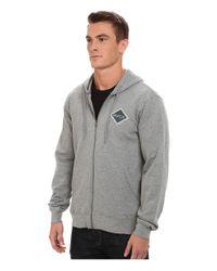 RVCA - Gray Matchbook Fleece for Men - Lyst