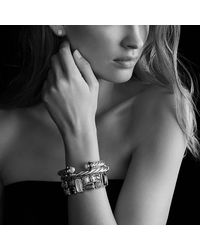 David Yurman - Metallic Earrings With Hematine - Lyst